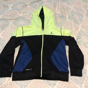 Boy's Jordan Therma Fit full zip jacket!Size Large